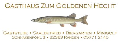 Logo: Zum Goldenen Hecht